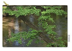 Carry-all Pouch featuring the photograph Green Is For Spring by Skip Willits