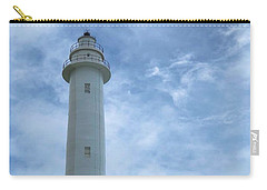 Carry-all Pouch featuring the photograph Green Island Lighthouse by Brian Eberly