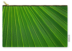 Green Leaf Background Carry-all Pouch