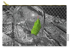 Green Leaf In A Bottle Carry-all Pouch