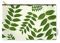 Carry-all Pouch featuring the mixed media Botanical Pattern by Christina Rollo