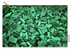 Green Lego Abstract Carry-all Pouch