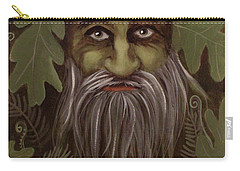 Green Man Painting Carry-all Pouch