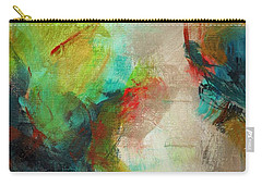 Blue Green Carry-all Pouch by Suzzanna Frank