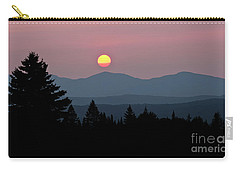 Green Mountain Sunset 2 Carry-all Pouch