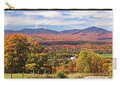 Green Mountains Autumn View Carry-all Pouch