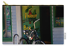 Green Parrot Bar Key West Carry-all Pouch
