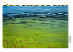 Green Pastures Carry-all Pouch by Jani Freimann