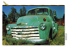 Green Pickup Truck 1959 Carry-all Pouch