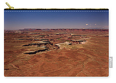 Green River Overlook Carry-all Pouch by Brenda Jacobs