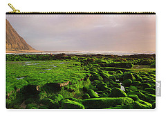 Green Soul Of The Cliff Carry-all Pouch by Edgar Laureano