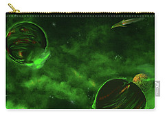 Green Space Carry-all Pouch by Methune Hively