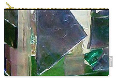 Carry-all Pouch featuring the glass art Green Vase by Jamie Frier