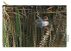 Green Winged Teal  Carry-all Pouch