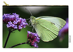 Green Wings Carry-all Pouch by John Topman