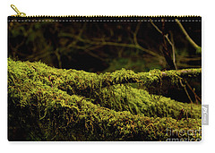 Green Wood Carry-all Pouch