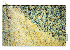 Green/yellow Abstract Two Carry-all Pouch