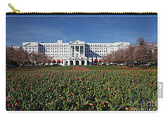Greenbrier Resort Carry-all Pouch by Laurinda Bowling