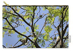 Greenery Center Panel Carry-all Pouch