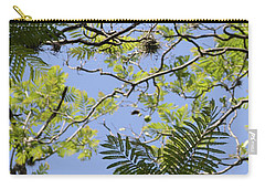 Greenery Left Panel Carry-all Pouch by Renie Rutten