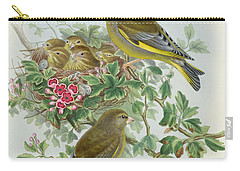 Greenfinch Carry-all Pouch by John Gould