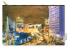 Greengate, Salford, Manchester At Night Carry-all Pouch