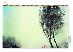 Carry-all Pouch featuring the painting Greeting 1 by Anil Nene