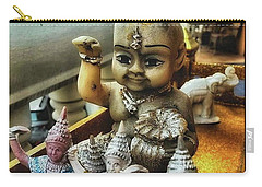 Carry-all Pouch featuring the photograph Greetings From Thailand. These Jolly by Mr Photojimsf