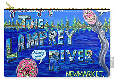 Greetings From The Lamprey River Carry-all Pouch