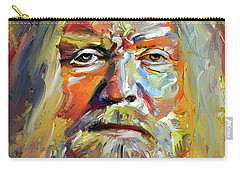Greg  Allman Tribute Portrait Carry-all Pouch