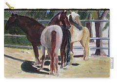 Gregory And His Mares Carry-all Pouch