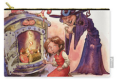 Gretel And Witch Carry-all Pouch