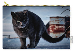 Grey Cat, Grey Mood Carry-all Pouch