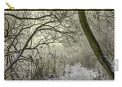 Carry-all Pouch featuring the photograph Grey Day #h1 by Leif Sohlman