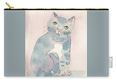 Grey Tabby Carry-all Pouch