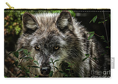 Grey Wolf Carry-all Pouch