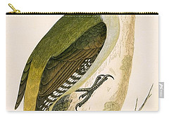 Grey Woodpecker Carry-all Pouch