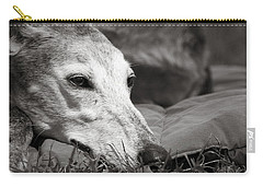Carry-all Pouch featuring the photograph Greyful by Angela Rath