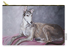 Greyhound At Rest Carry-all Pouch