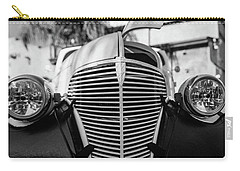 Carry-all Pouch featuring the photograph Grill by Lora Lee Chapman