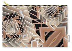 Carry-all Pouch featuring the digital art Grilled by Ron Bissett