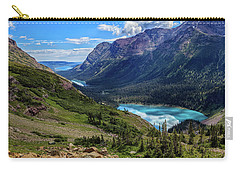 Grinell Hike In Glacier National Park Carry-all Pouch by Andres Leon