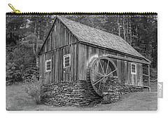 Carry-all Pouch featuring the photograph Grist Mill by Guy Whiteley