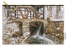 Grist Mill In Fresh Snow Carry-all Pouch