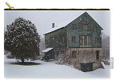 Grist Mill Of Port Hope Carry-all Pouch by Davandra Cribbie