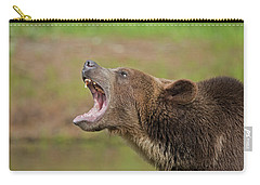 Grizzly Bear Growl Carry-all Pouch
