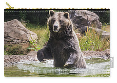 Grizzly Bear Wading Carry-all Pouch