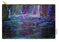Carry-all Pouch featuring the painting Grotto by Heidi Scott
