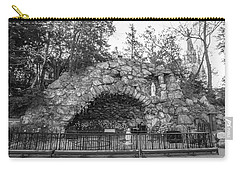 Grotto Of Our Lady Of Lourdes 3 Carry-all Pouch