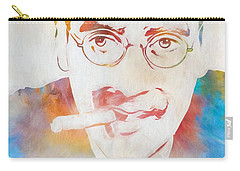 Groucho Marx Carry-all Pouch by Dan Sproul